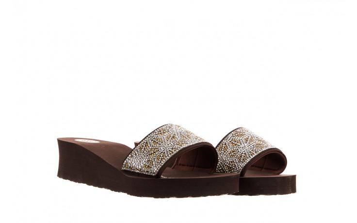 Klapki gioseppo andiara chocolate, brąz, guma - piankowe - klapki - buty damskie - kobieta 1