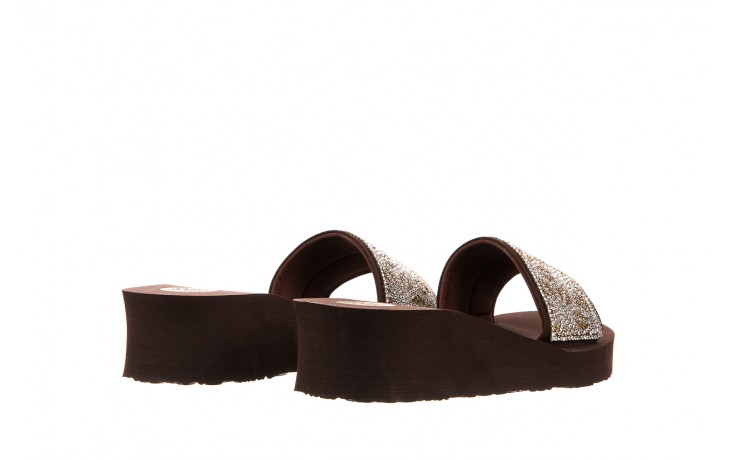 Klapki gioseppo andiara chocolate, brąz, guma - piankowe - klapki - buty damskie - kobieta 3