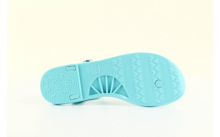 Sandały gioseppo bauhaus turquise, niebieskie, guma - gioseppo - nasze marki 4