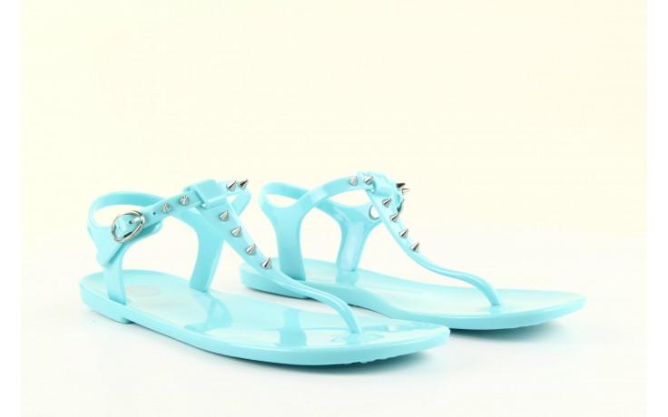 Sandały gioseppo bauhaus turquise, niebieskie, guma - gioseppo - nasze marki 3