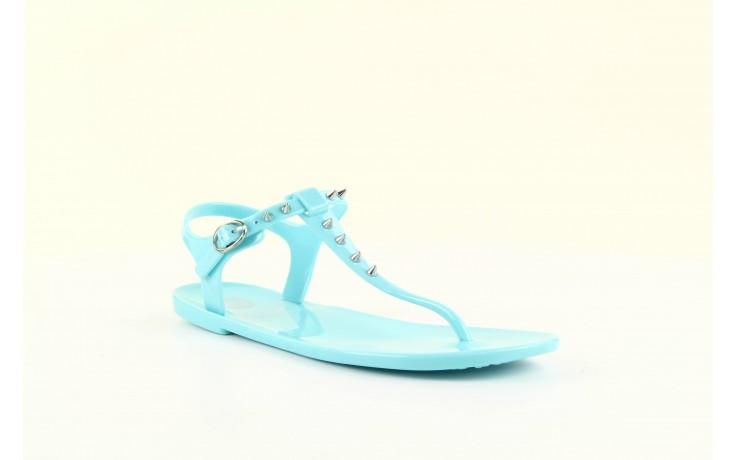 Sandały gioseppo bauhaus turquise, niebieskie, guma - gioseppo - nasze marki 7