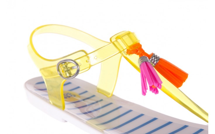 Sandały gioseppo binidali yellow, żółty, guma - gioseppo - nasze marki 5