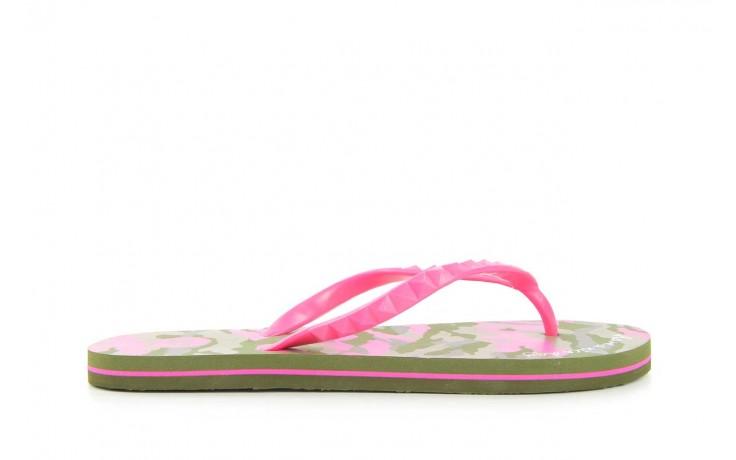 Klapki gioseppo frappe 1 fuchsia, róż, guma - piankowe - klapki - buty damskie - kobieta