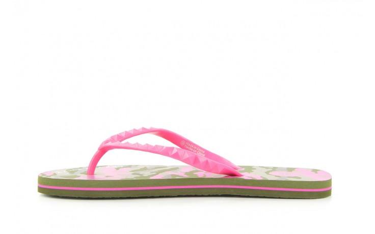 Klapki gioseppo frappe 1 fuchsia, róż, guma - piankowe - klapki - buty damskie - kobieta 2