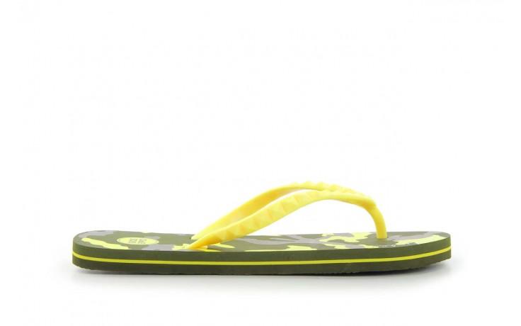 Klapki gioseppo frappe 1 yellow, żółty, guma - piankowe - klapki - buty damskie - kobieta