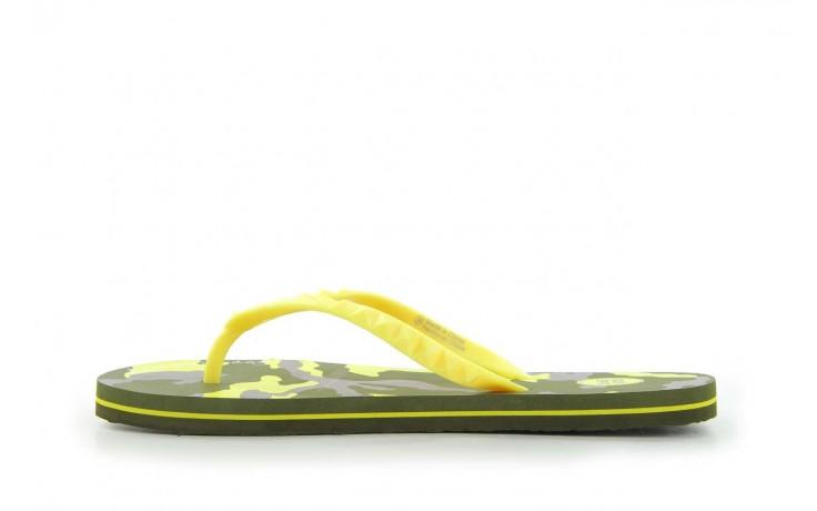 Klapki gioseppo frappe 1 yellow, żółty, guma - piankowe - klapki - buty damskie - kobieta 2