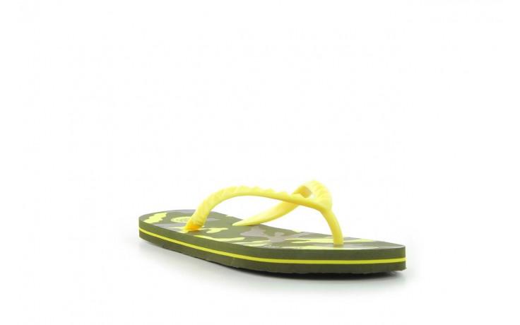 Klapki gioseppo frappe 1 yellow, żółty, guma - piankowe - klapki - buty damskie - kobieta 1