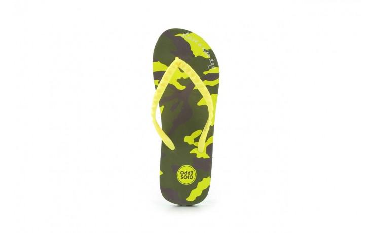 Klapki gioseppo frappe 1 yellow, żółty, guma - piankowe - klapki - buty damskie - kobieta 3
