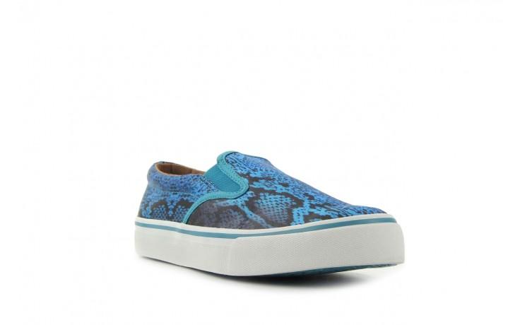 Półbuty gioseppo hapenning snake-blue, niebieski, materiał - gioseppo - nasze marki 1