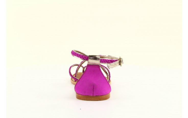 Sandały gioseppo jacobe fucshia, róż, skóra naturalna - gioseppo - nasze marki 1
