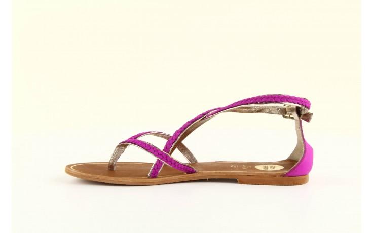 Sandały gioseppo jacobe fucshia, róż, skóra naturalna - gioseppo - nasze marki