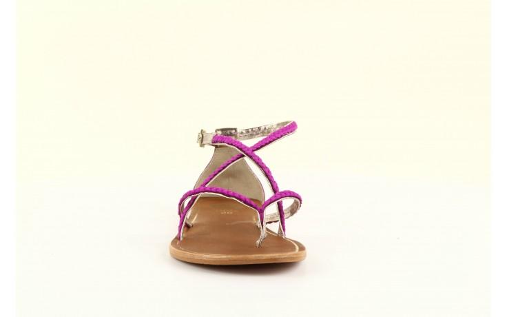 Sandały gioseppo jacobe fucshia, róż, skóra naturalna - gioseppo - nasze marki 2