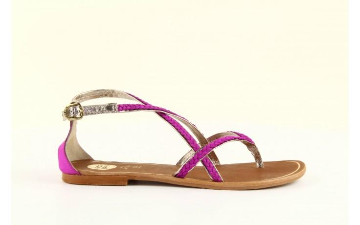 Sandały gioseppo jacobe fucshia, róż, skóra naturalna - gioseppo - nasze marki 4