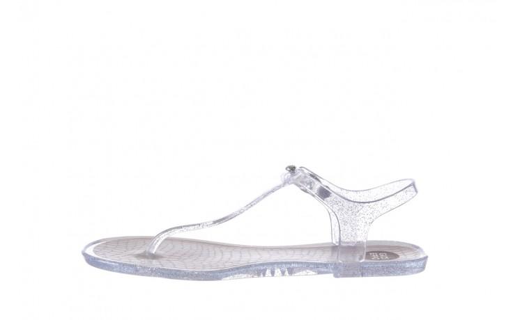 Sandały gioseppo lecce transparent silver, srebro, guma - gioseppo - nasze marki 2