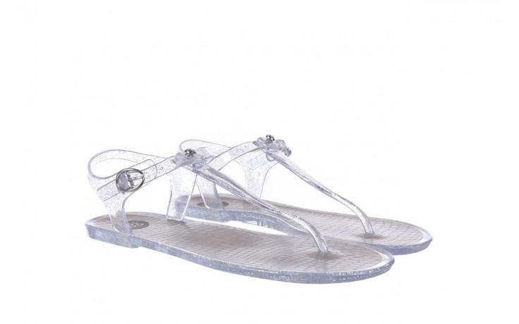Sandały gioseppo lecce transparent silver, srebro, guma - gioseppo - nasze marki 1