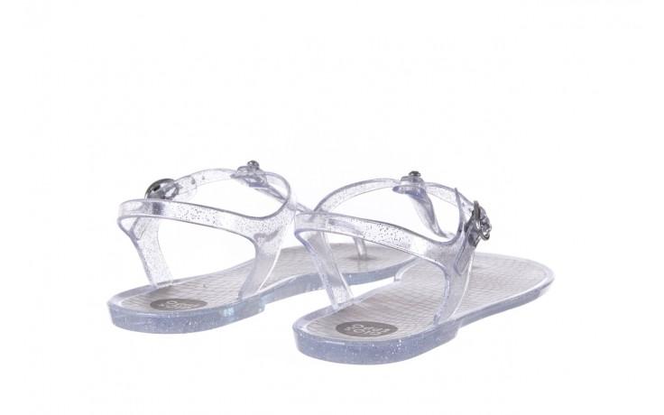 Sandały gioseppo lecce transparent silver, srebro, guma - gioseppo - nasze marki 3