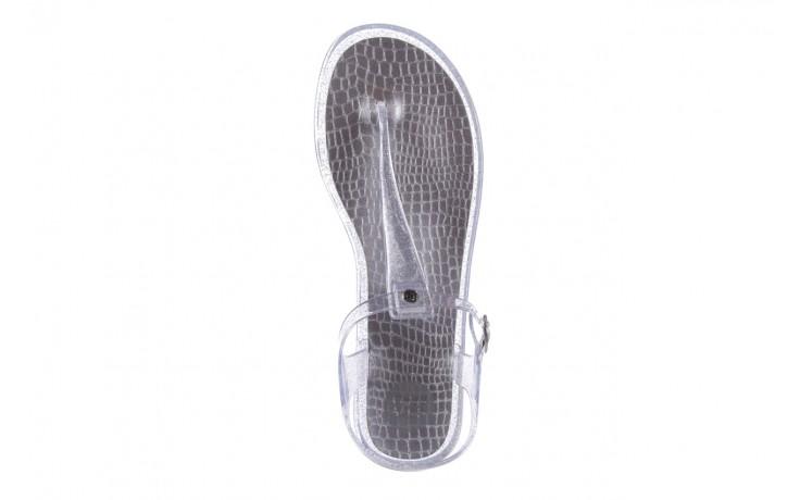 Sandały gioseppo lecce transparent silver, srebro, guma - gioseppo - nasze marki 4