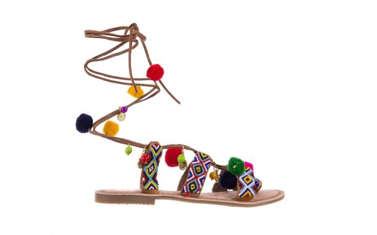 Sandały gioseppo omahas tan, wielokolorowy, skóra naturalna  - gioseppo - nasze marki