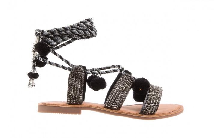 Sandały gioseppo quetzali black, czarny, skóra naturalna  - gioseppo - nasze marki