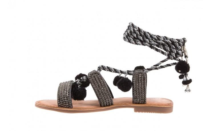 Sandały gioseppo quetzali black, czarny, skóra naturalna  - gioseppo - nasze marki 2