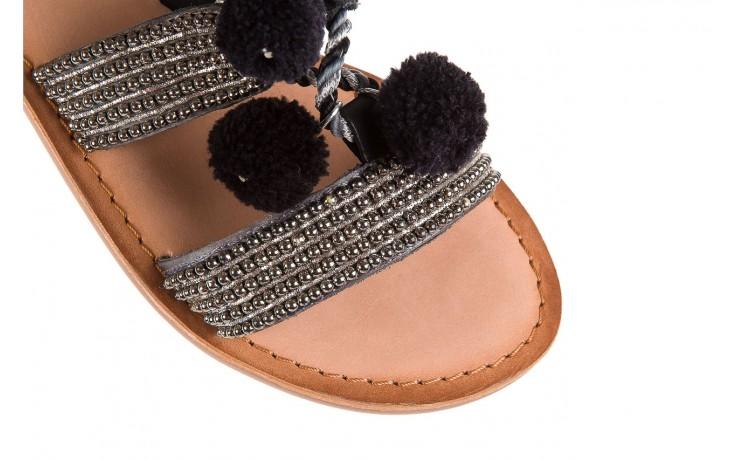 Sandały gioseppo quetzali black, czarny, skóra naturalna  - gioseppo - nasze marki 5