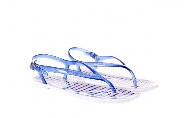 Sandały gioseppo sassari blue, granat, guma - japonki - sandały - buty damskie - kobieta 1