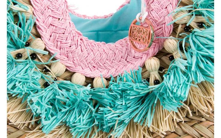 Torebka gioseppo torebka suima natural u, wielokolorowy, materiał  - gioseppo - nasze marki 4