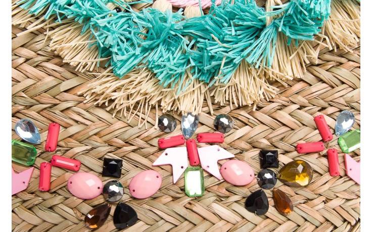 Torebka gioseppo torebka suima natural u, wielokolorowy, materiał  - gioseppo - nasze marki 5