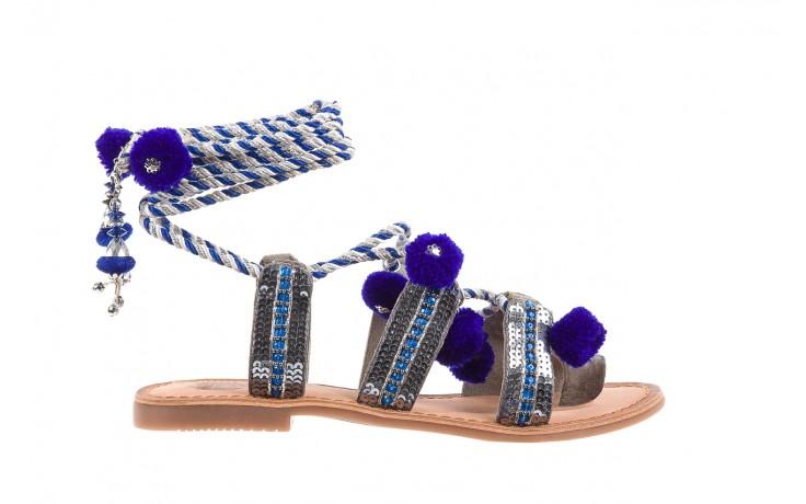 Sandały gioseppo yurak blue, granat, skóra naturalna  - sandały - dla niej - dodatkowe -10%