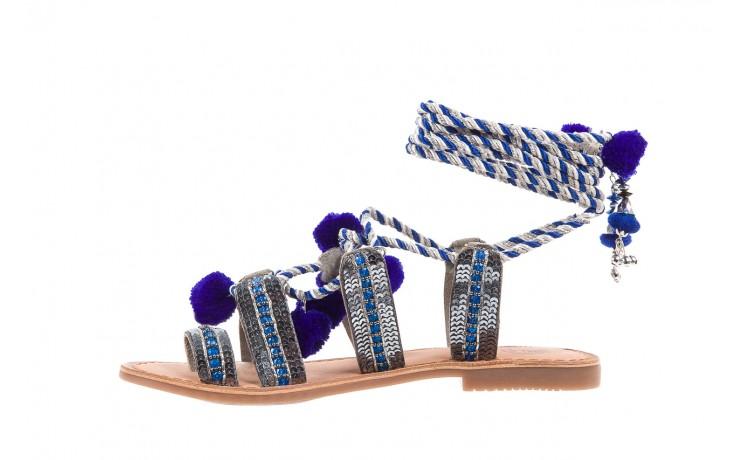 Sandały gioseppo yurak blue, granat, skóra naturalna  - sandały - dla niej - dodatkowe -10% 2