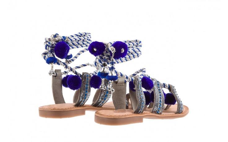 Sandały gioseppo yurak blue, granat, skóra naturalna  - sandały - dla niej - dodatkowe -10% 3