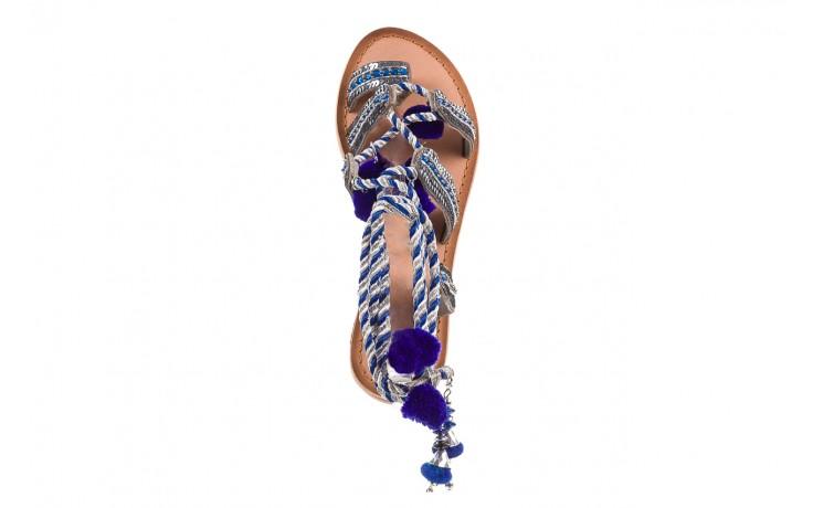 Sandały gioseppo yurak blue, granat, skóra naturalna  - sandały - dla niej - dodatkowe -10% 4