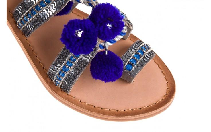 Sandały gioseppo yurak blue, granat, skóra naturalna  - sandały - dla niej - dodatkowe -10% 5