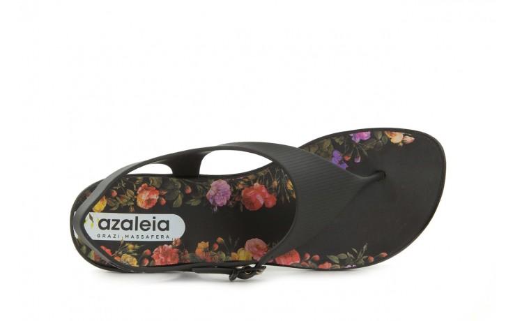 Sandały grazi 017 244 black flower, czarny, guma - dijean - nasze marki 4