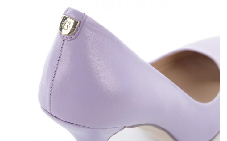 Szpilki guess fl1pm2 lem08 lilac, fiolet, skóra naturalna - guess - nasze marki 5