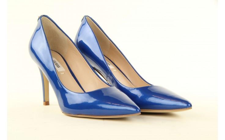 Szpilki guess fl2mmapal08 blue, niebieskie, skóra naturalna lakierowana - guess - nasze marki 3