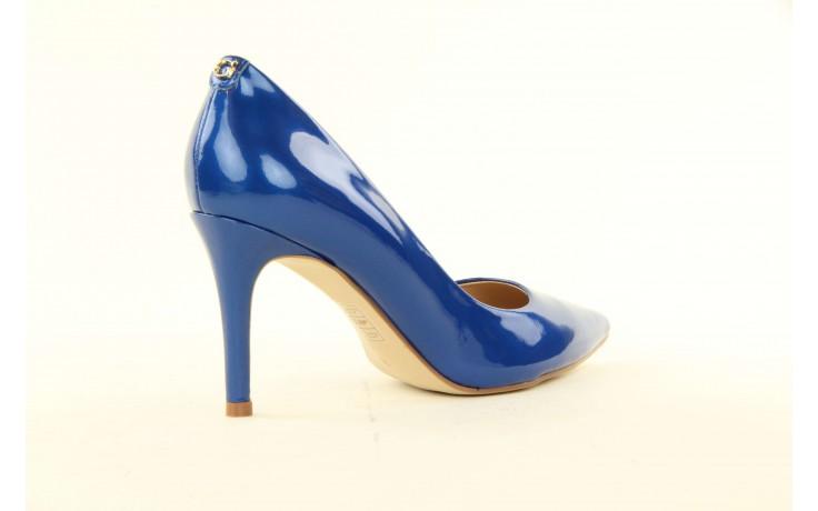 Szpilki guess fl2mmapal08 blue, niebieskie, skóra naturalna lakierowana - guess - nasze marki 2
