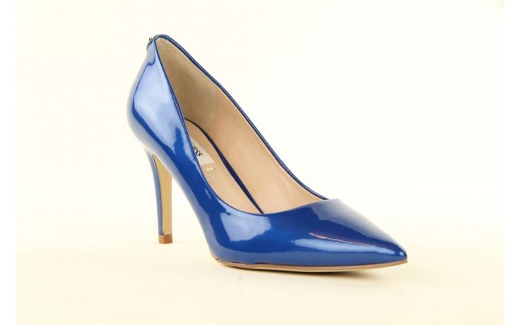 Szpilki guess fl2mmapal08 blue, niebieskie, skóra naturalna lakierowana - guess - nasze marki 1