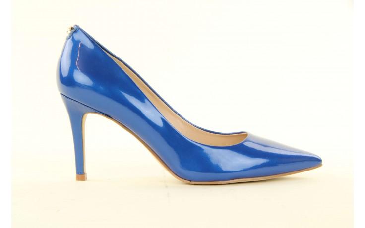 Szpilki guess fl2mmapal08 blue, niebieskie, skóra naturalna lakierowana - guess - nasze marki