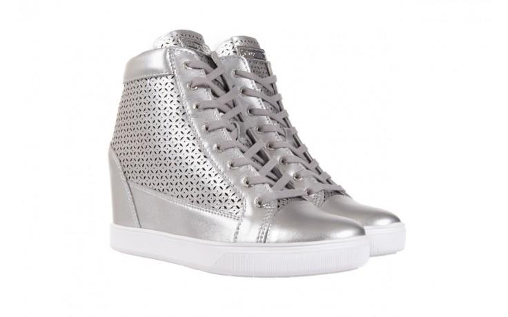 Sneakersy guess flfur2 lea12 silve, srebro, skóra naturalna  - sneakersy - buty damskie - kobieta 1