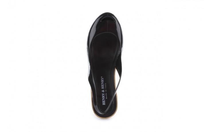 Sandały henry&henry coco black 15, czarny, guma - henry&henry - nasze marki 4