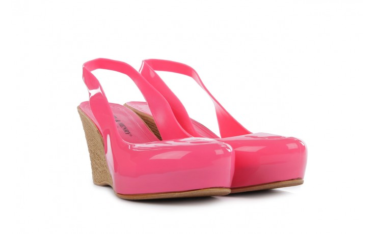 Sandały henry&henry coco pink 14 15, róż, guma 1