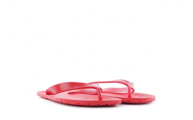 Klapki henry&henry flipper red, czerwony, guma 1