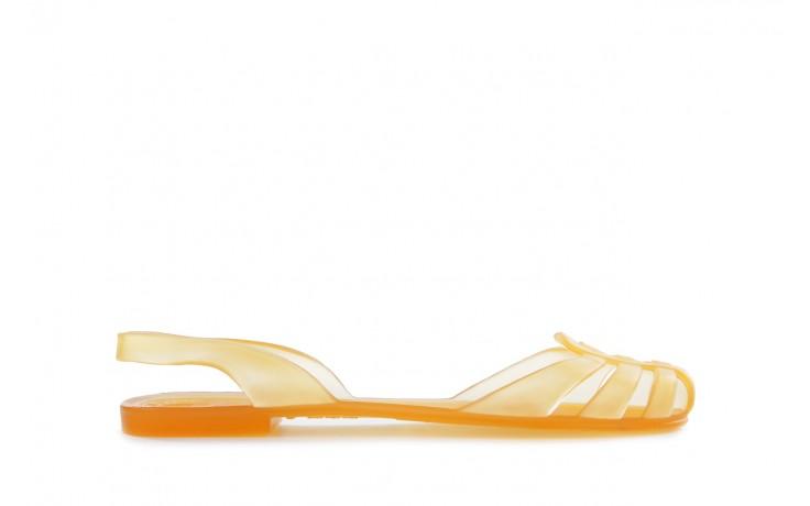 Sandały henry&henry spider arancio transparente, żółte, guma - henry&henry - nasze marki