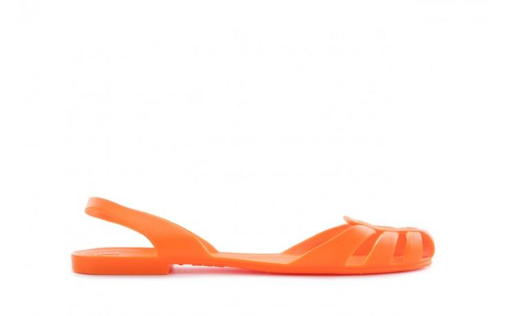 Sandały henry&henry spider orange, pomarańczowe, guma
