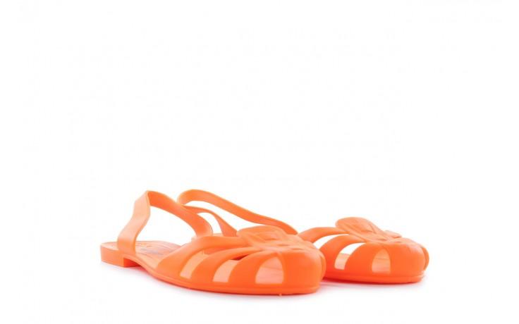 Sandały henry&henry spider orange, pomarańczowe, guma 1