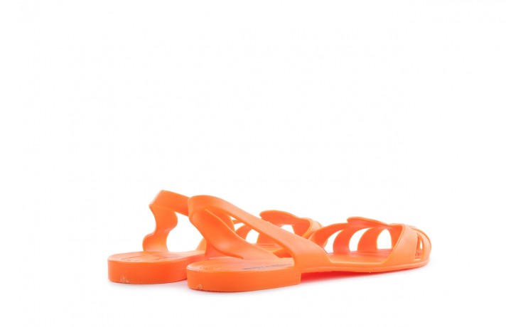 Sandały henry&henry spider orange, pomarańczowe, guma 3