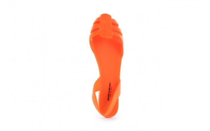 Sandały henry&henry spider orange, pomarańczowe, guma 4