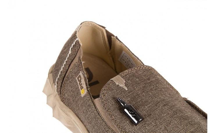 Półbuty heydude farty linen rope, beż, materiał  - heydude - nasze marki 5