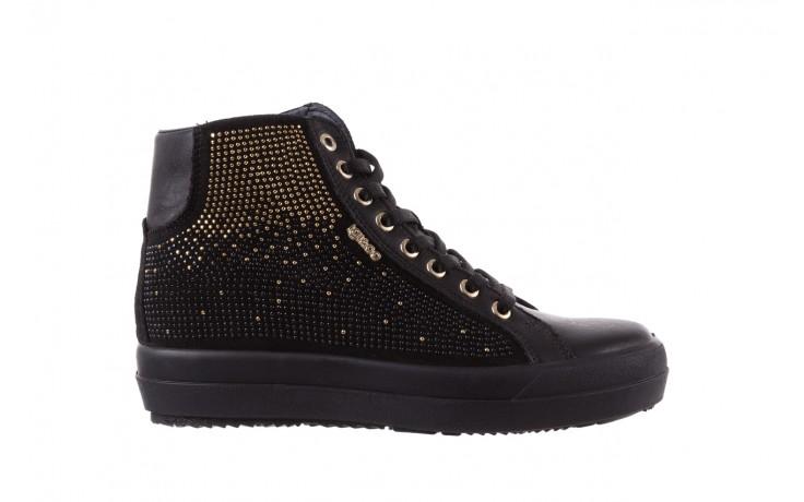 Sneakersy igi&co 8773800 nero, czarny, skóra naturalna